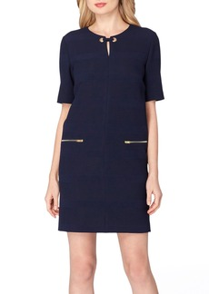 Tahari Scuba Shift Dress