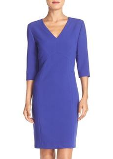 Tahari Seamed Stretch Sheath Dress (Online Only)
