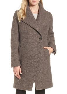 Tahari Sheila Bouclé Knit Coat
