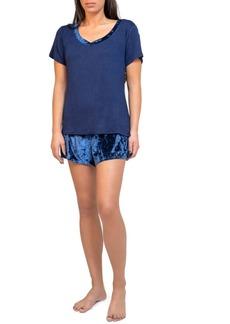 Tahari Short Sleeve and Short Pajama Set, Online Only