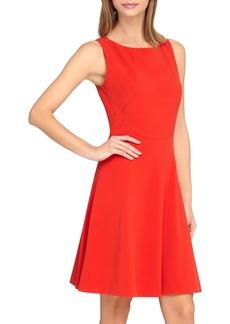 Tahari Sleeveless A-Line Dress (Petite)