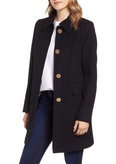 Tahari Sophie A-Line Wool Blend Coat