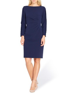 Tahari Split Sleeve Sheath Dress