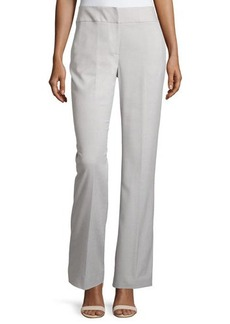 Tahari Straight-Leg Stretch-Woven Suiting Pants
