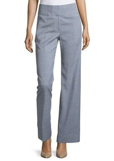 Tahari Straight-Leg Twill Pants