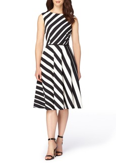 Tahari Stretch Fit & Flare Dress (Regular & Petite)