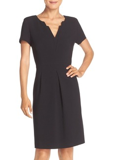 Tahari Stretch Sheath Dress (Regular & Petite)