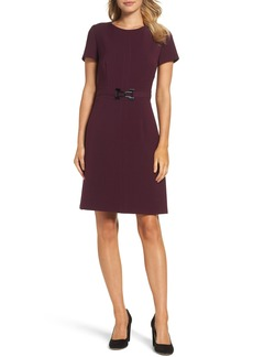 Tahari Stretch Sheath Dress (Regular & Petite)