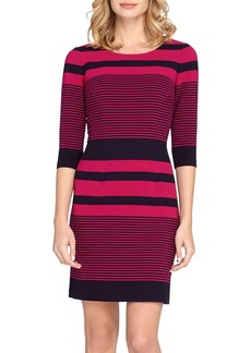 Tahari Stripe Sheath Dress (Regular & Petite)
