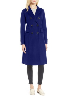 Tahari Taylor Double Breasted Wool Coat