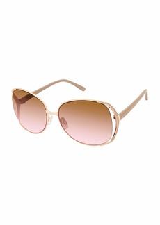 TAHARI TH751 Oval Sunglasses