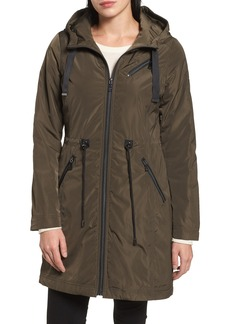 Tahari Tiffany Raincoat (Regular & Petite)