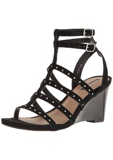 Tahari Women's TA-FITZY Wedge Sandal   Medium US