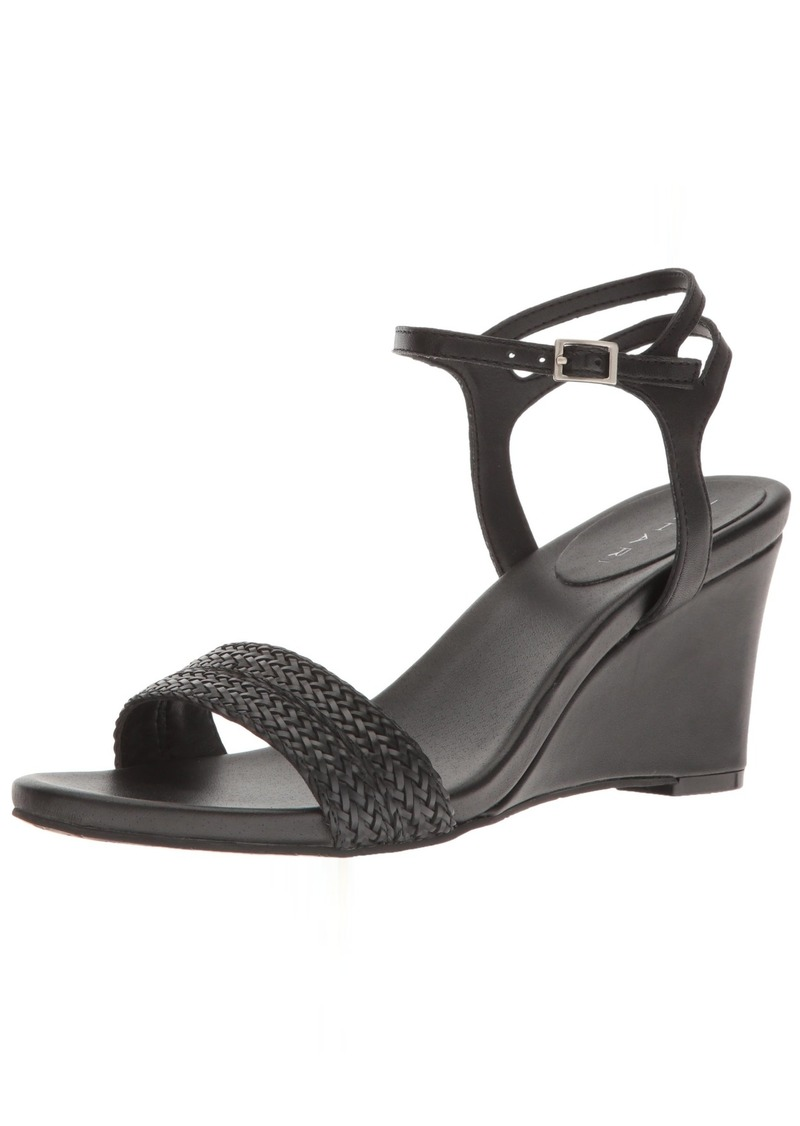Tahari Women's TA-Friend Wedge Sandal   Medium US