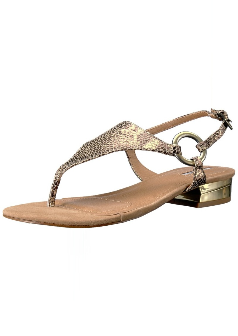 Tahari Women's TA-LACIE Flat Sandal  5 Medium US