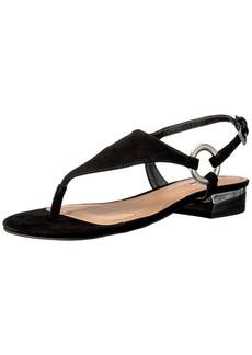 Tahari Women's TA-LACIE Flat Sandal   Medium US