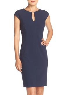 Tahari Woven Sheath Dress (Regular & Petite) (Online Only)