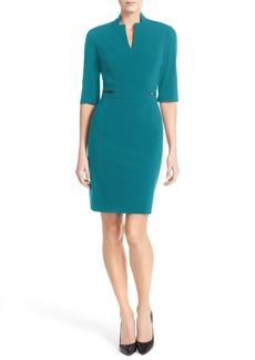 TahariBi-Stretch Sheath Dress (Regular & Petite)