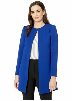 Tahari Topper Jacket with Seam Details
