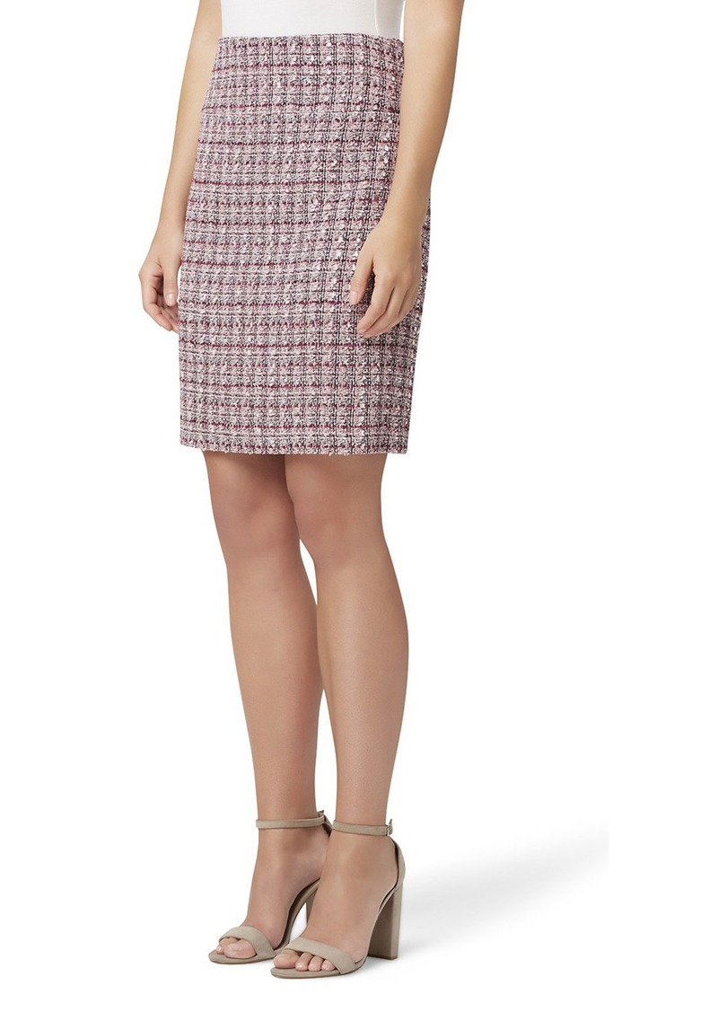 Tahari Tweed A-Line Skirt