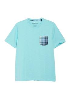 Tailor Vintage Bali Madras Plaid Pocket T-Shirt