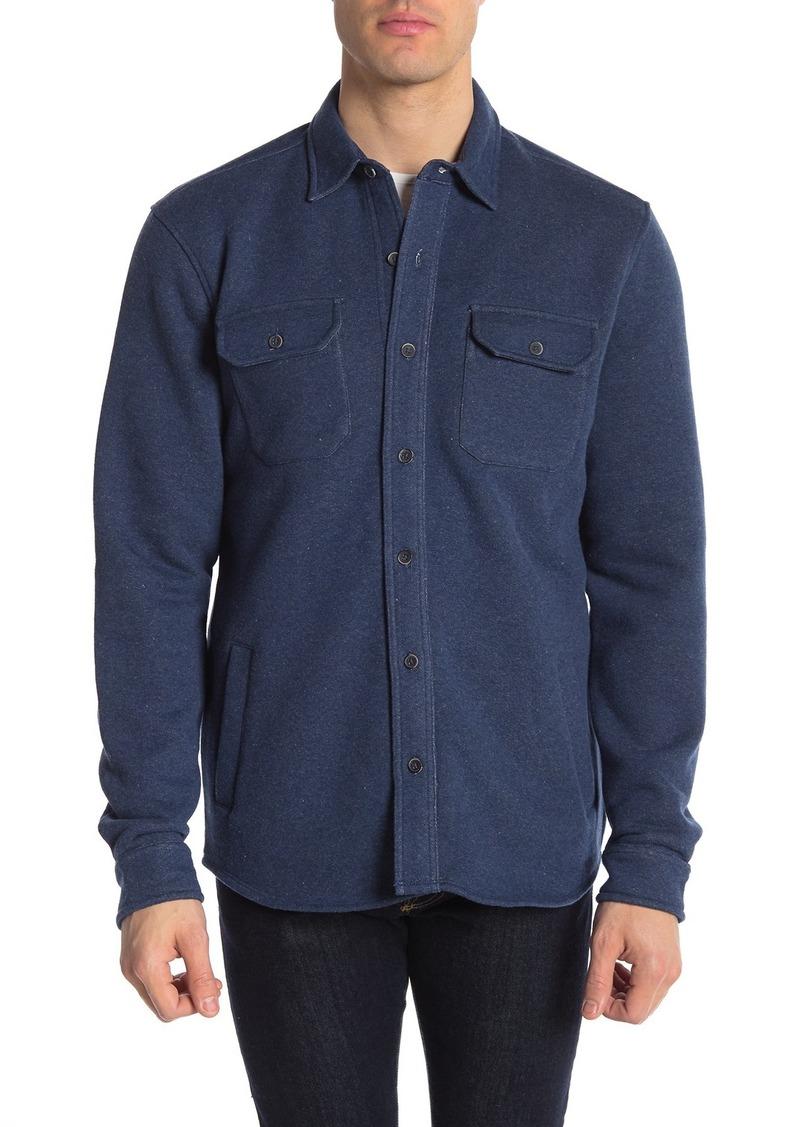 Tailor Vintage Fleece Front Button Shirt