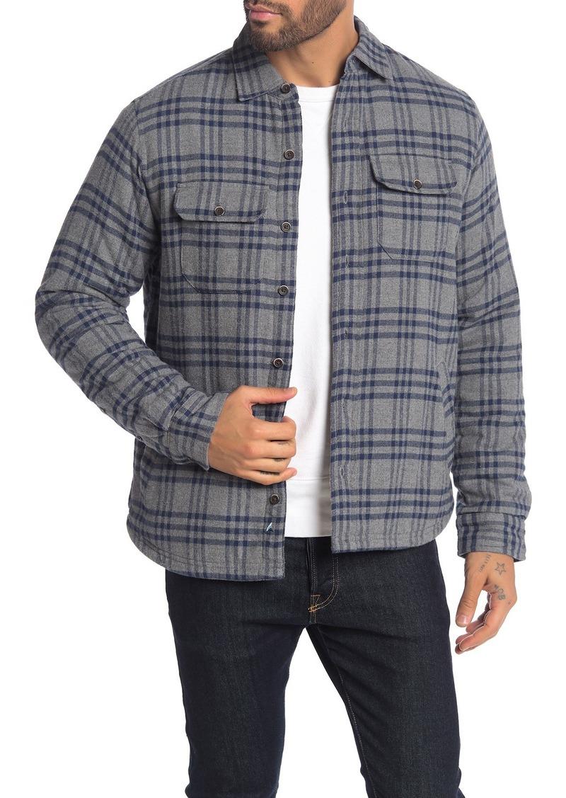 Tailor Vintage Fleece Lined Plaid Flannel Shirt