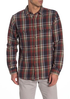 Tailor Vintage Heavyweight Plaid Reversible Long Sleeve Casual Fit Shirt