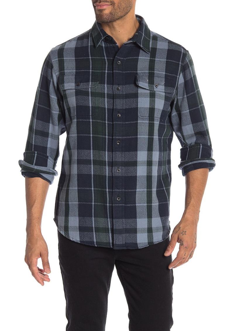 Tailor Vintage Reversible Plaid Casual Fit Shirt