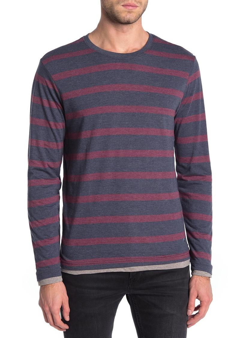 Tailor Vintage Indigo Double Layered Long Sleeve T-Shirt