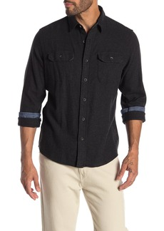Tailor Vintage Performance Stretch Heather Fleece Classic Fit Shirt