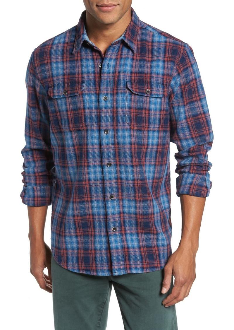 Tailor Vintage Plaid Heavy Twill Shirt