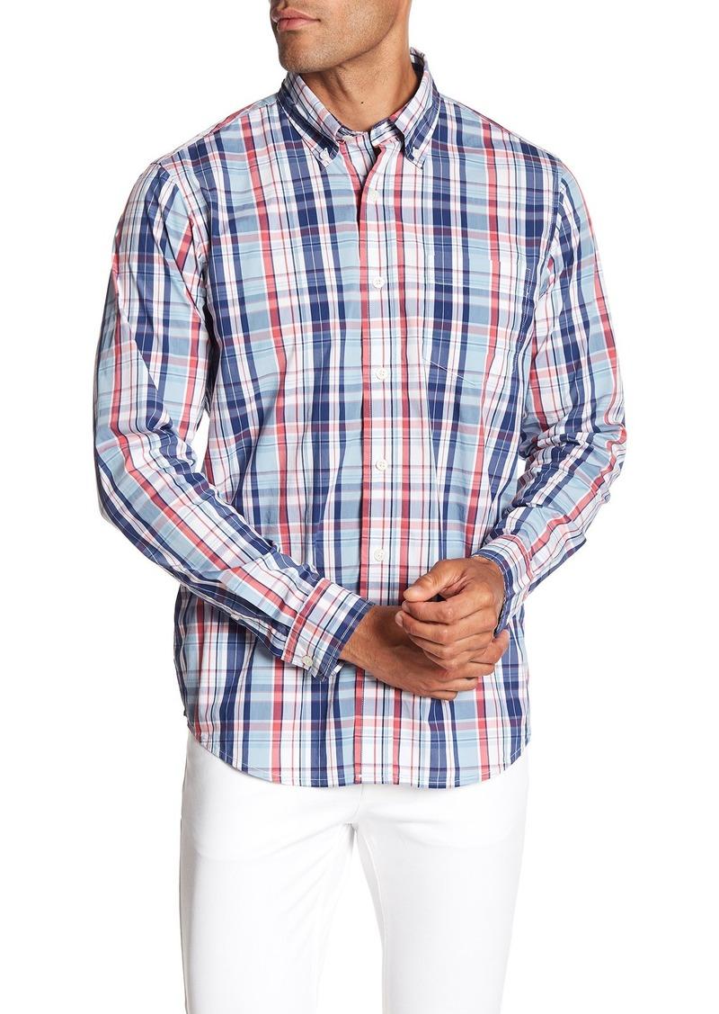 Tailor Vintage Plaid Stretch Fit Shirt