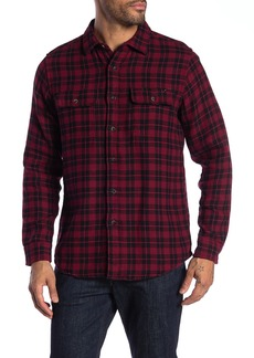 Tailor Vintage Plaid Reversible Casual Fit Shirt