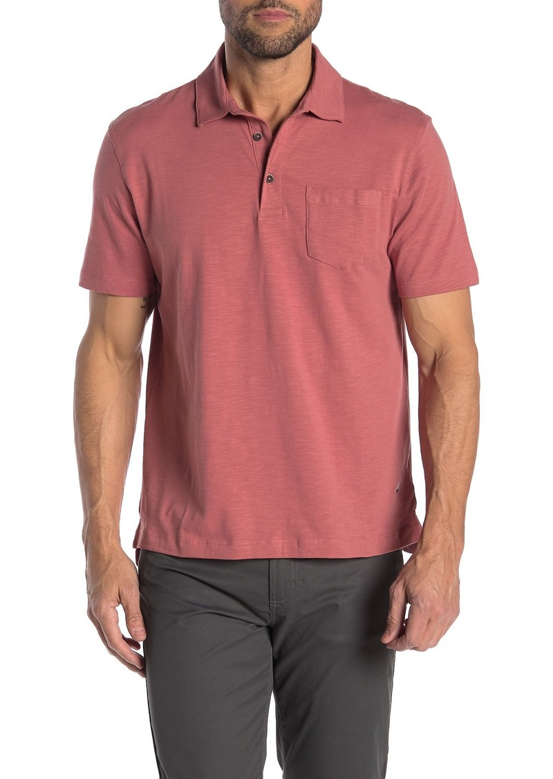 Tailor Vintage Slub Knit Polo Shirt