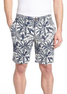 Tailor Vintage Cotton & Linen Shorts