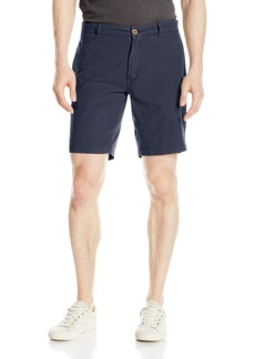 "Tailor Vintage Men's 9"" Slim Stretch Casual Linen Walking Short"