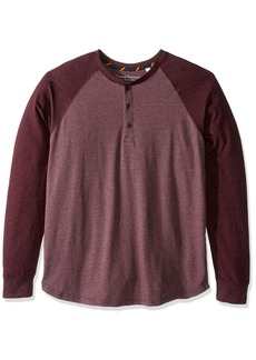 Tailor Vintage Men's Baseball Henley red L