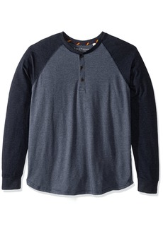 Tailor Vintage Men's Baseball Henley  XL