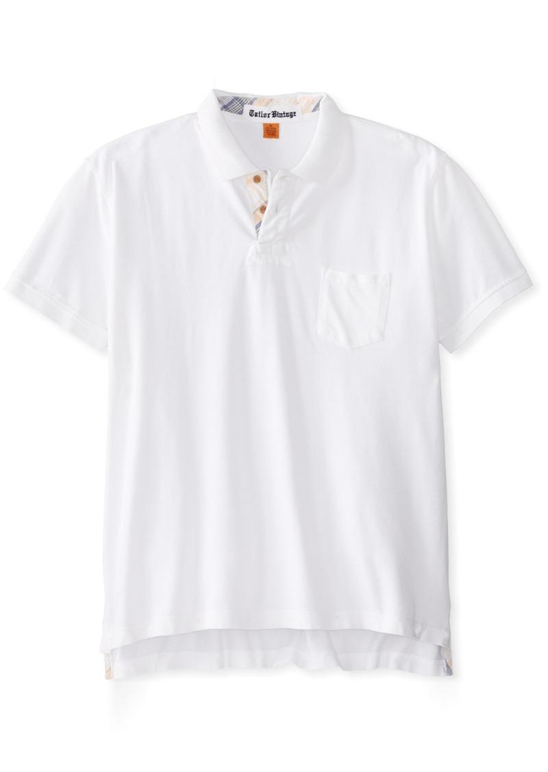 Tailor Vintage Men's Garment-Dyed Polo  M