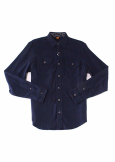 Tailor Vintage Men's Heather Brushed Double Pocket Flannel Shirt  S