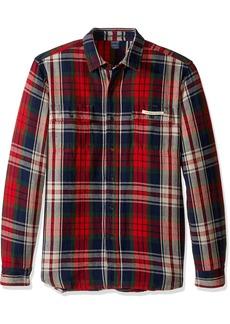 Tailor Vintage Men's Long Sleeve American Indian Reversible Shirt Jacket  M