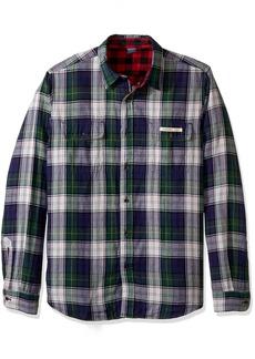 Tailor Vintage Men's Long Sleeve Buffalo Doubleface Reversible Shirt  M