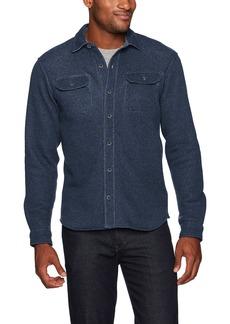 Tailor Vintage Men's Long Sleeve Sherpa Lined Fleece Shirt  XL
