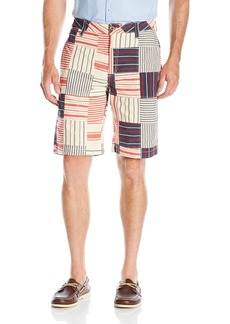 Tailor Vintage Men's Patchwork Walking Short