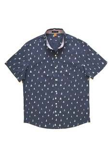 Tailor Vintage Men's Printed Stretch Performance SS Shirt