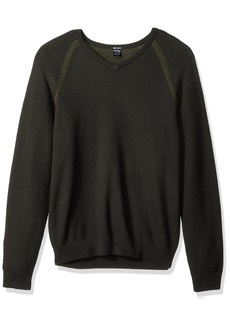 Tailor Vintage Men's Pullover Birdeye Sweater  LG