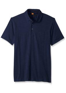 Tailor Vintage Men's Short Sleeve Stretch Slub Jersey Pocket Polo  XXL
