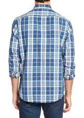 Tailor Vintage Regular Fit Plaid Sport Shirt