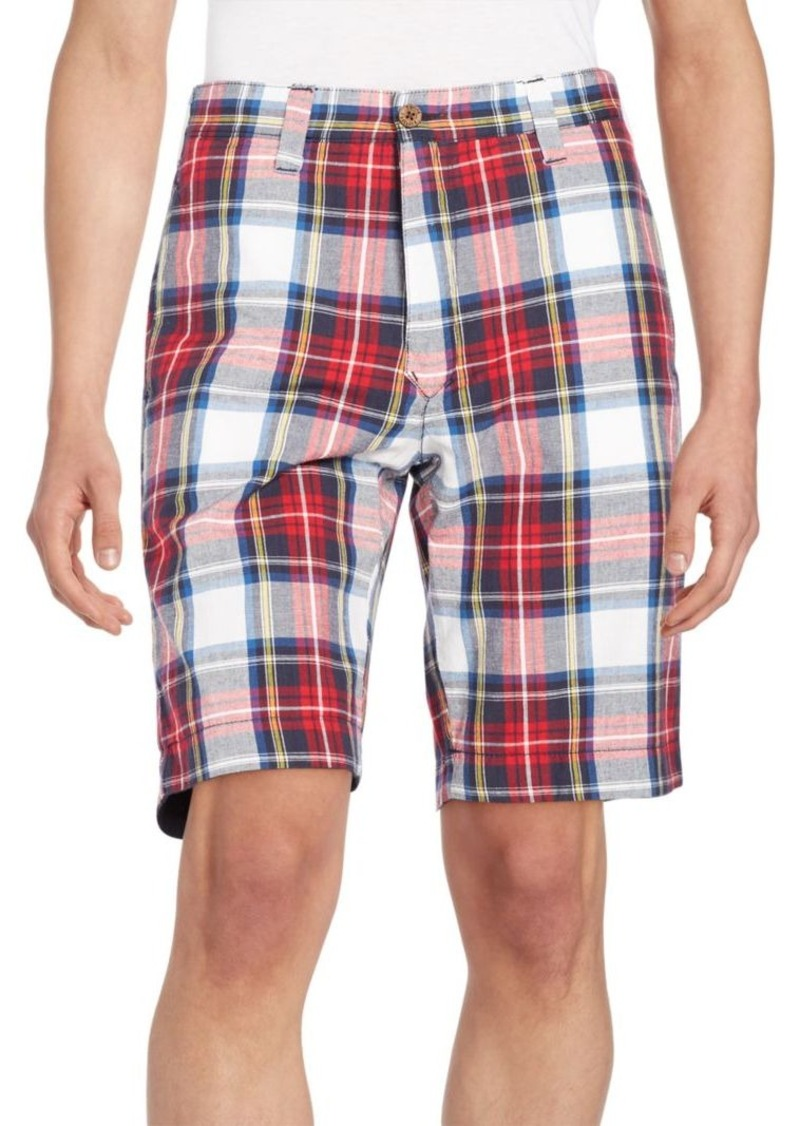 Tailor Vintage Reversible Plaid Shorts